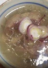 牛尻尾 コムタン(牛テールスープ)