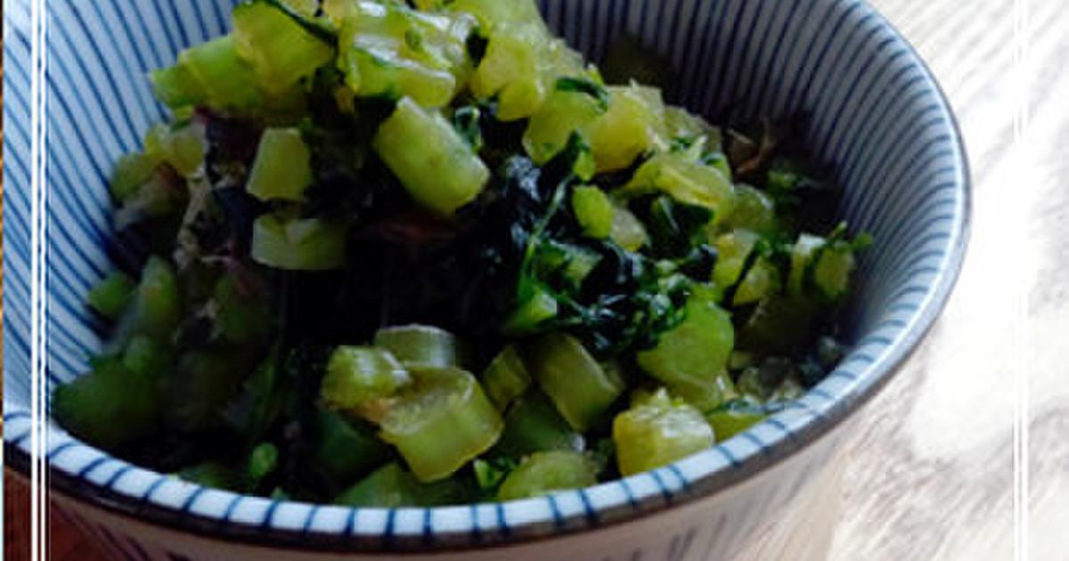カブの葉レシピ