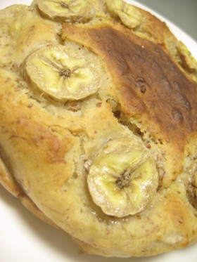 甘味料ゼロの半生スイーツ甘酒バナナケーキ