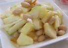 りんご&セロリ&お豆のサラダ