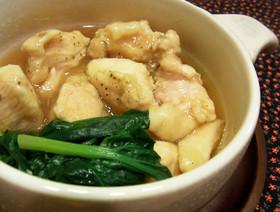 風邪を引いたら◉超簡単!鶏のじぶ煮