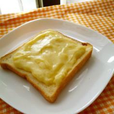 朝から甘~いカスタードトースト♡