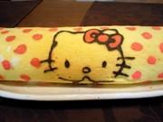 デコロールケーキの写真