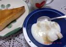 定番朝食☆バナナヨーグルト♪