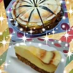 うちのチーズケーキ。