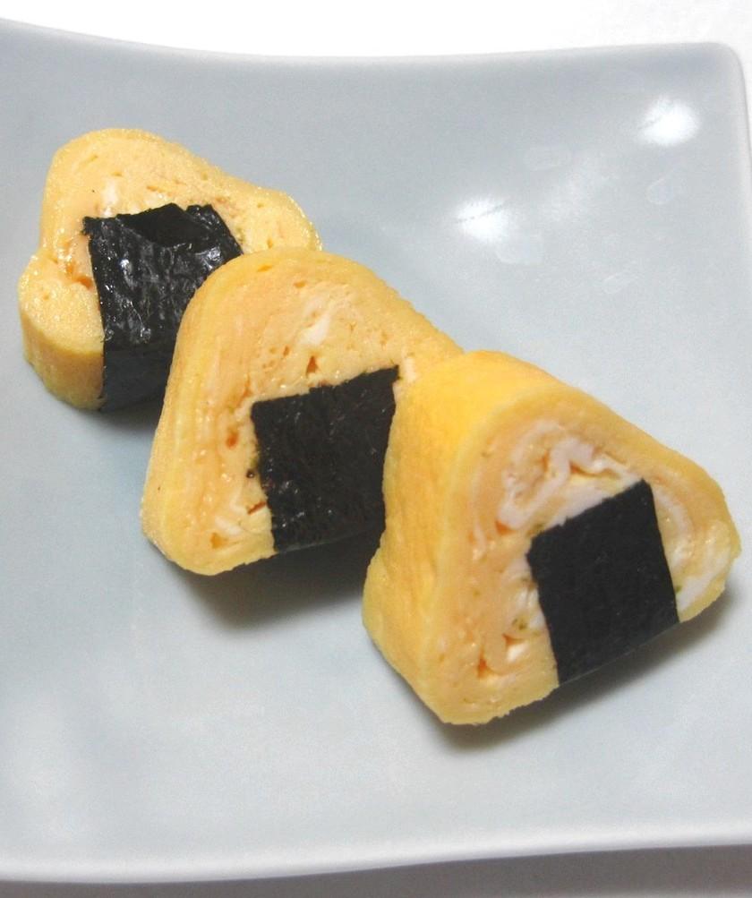 お弁当に…おにぎり卵焼き~♬