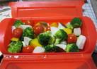 ルクエで蒸し野菜