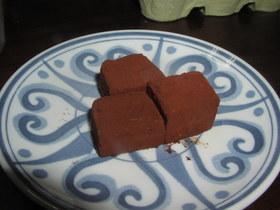 簡単生チョコレート