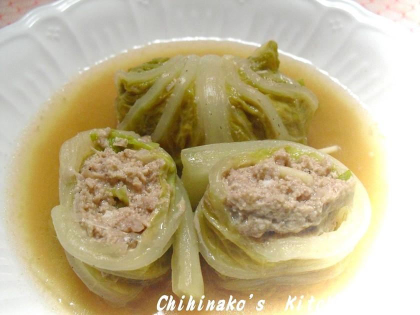 あっさり美味しいロール白菜。