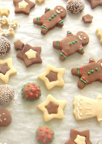 クリスマスとっておきのジンジャークッキー