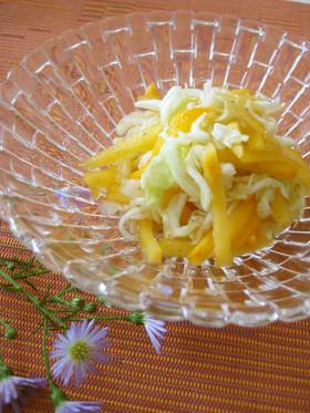 簡単★柿とキャベツのサラダ