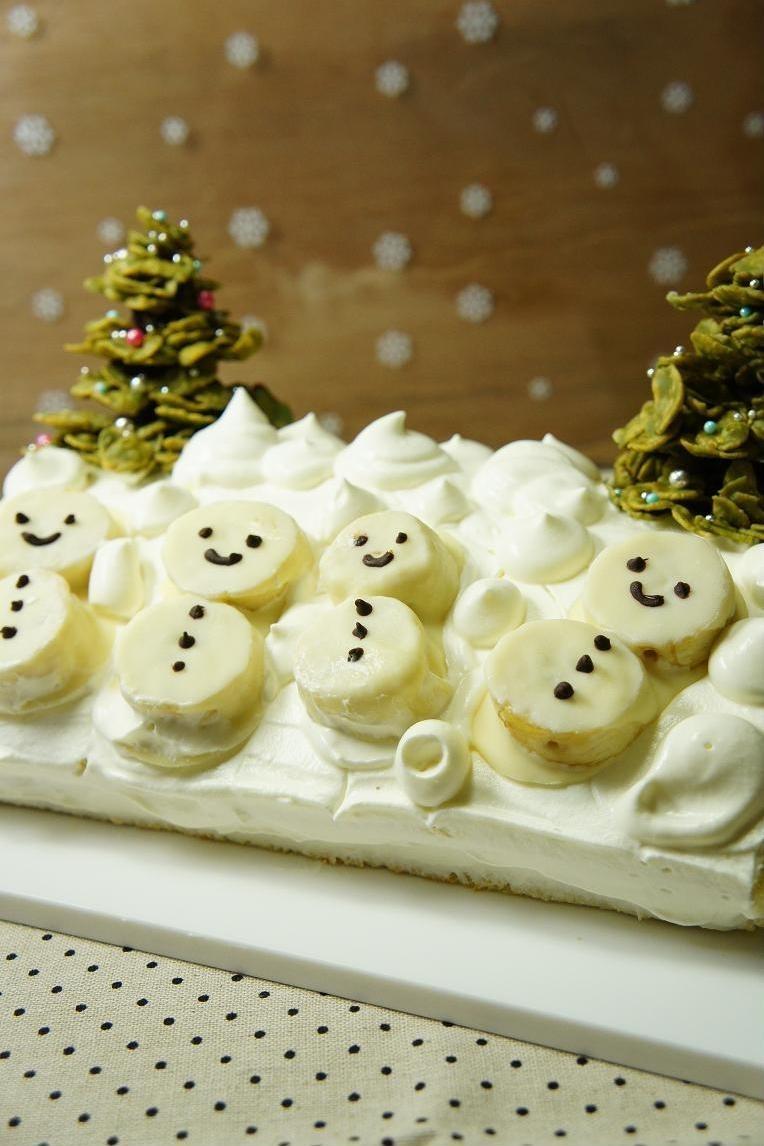 Snowクリスマスケーキ☆