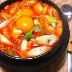 うま辛韓国料理☆スンドゥブチゲ