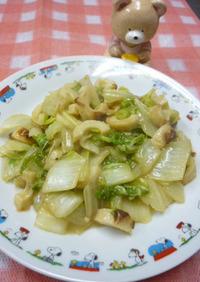 おでんの残り汁で☆白菜の簡単煮物