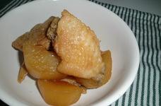 鶏手羽先と大根のさっぱり煮