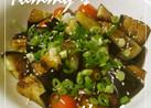 簡単 焼き夏野菜の中華だれ合え