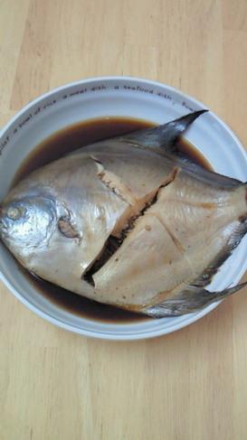 漁師さんの魚の煮付け~マナガツオ~