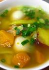 ホクホク美味しい♪里芋とかぼちゃのスープ