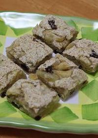 アップルパイな☆お豆腐のソフトクッキー