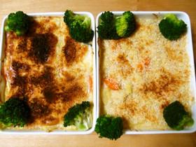 マクロビ豆乳グラタン☆肉食派と両立レシピ