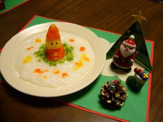 ★離乳食でクリスマス★