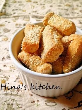 給食の味♡一口きなこ揚げパン