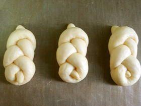 パンの成形法 トリプルノット型