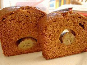 キャラメル・バナナ・パウンドケーキ(Caramel Banana Pound Cake)
