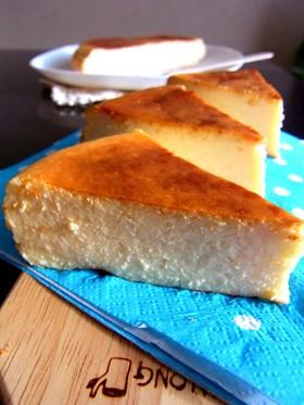 豆乳ベイクドチーズケーキ☆