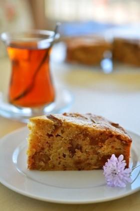 トルコのお菓子☆いちじくと胡桃のケーキ