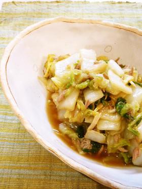 ✿白菜とツナの甘酢サラダ✿
