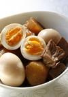 ■ こっくり味の豚バラ大根 煮卵添え ■