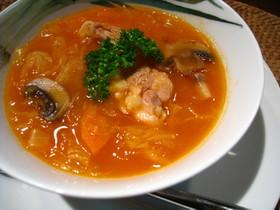 サワークラウトのスープ☆ポーランド料理