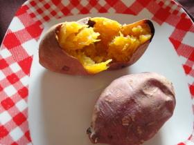 安納芋★オーブントースターで簡単焼き芋♪