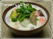 【農家のレシピ】根菜たっぷり☆鮭のかす汁の写真