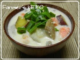 【農家のレシピ】根菜たっぷり☆鮭のかす汁