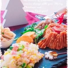 フレンチドレdeサラダ風no混ぜご飯