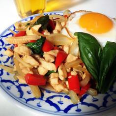 タイ料理屋さんのガパオご飯