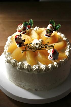 ■クリスマスケーキに*リンゴのコンポート