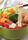 のび〜るモッツァレラのトマト鍋