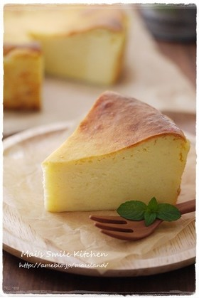 ほっくり♡さつま芋のクリームチーズケーキ