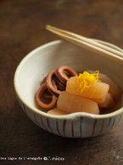 ウチの定番・イカ大根(柚子たっぷり)。の写真
