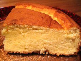 スペイン風ヨーグルトベイクドケーキ