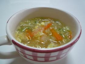 簡単*お野菜たっぷり☆春雨スープ☆