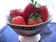 イチゴとか&レタスとかの洗い方の写真