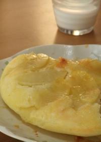 朝食に!簡単りんごのしっとりホットケーキ