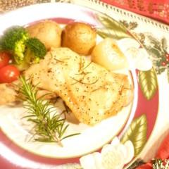 チキンのハーブ焼きフランス風