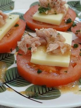 ●北欧食器でおうちカフェ トマトのサラダ