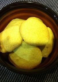 バターも薄力粉も使わない抹茶クッキー