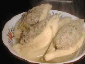 肉詰め高野豆腐